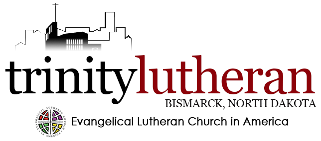 Trinity Lutheran Church, Bismarck, North Dakota Retina Logo
